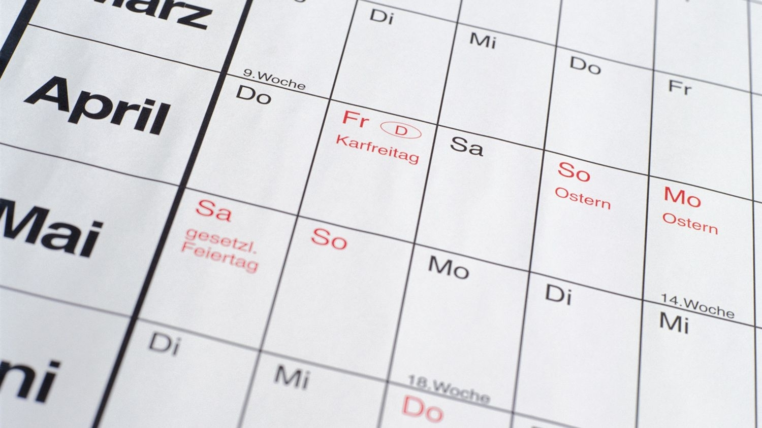 Learn The Months, Dates, Seasons, And Days In German