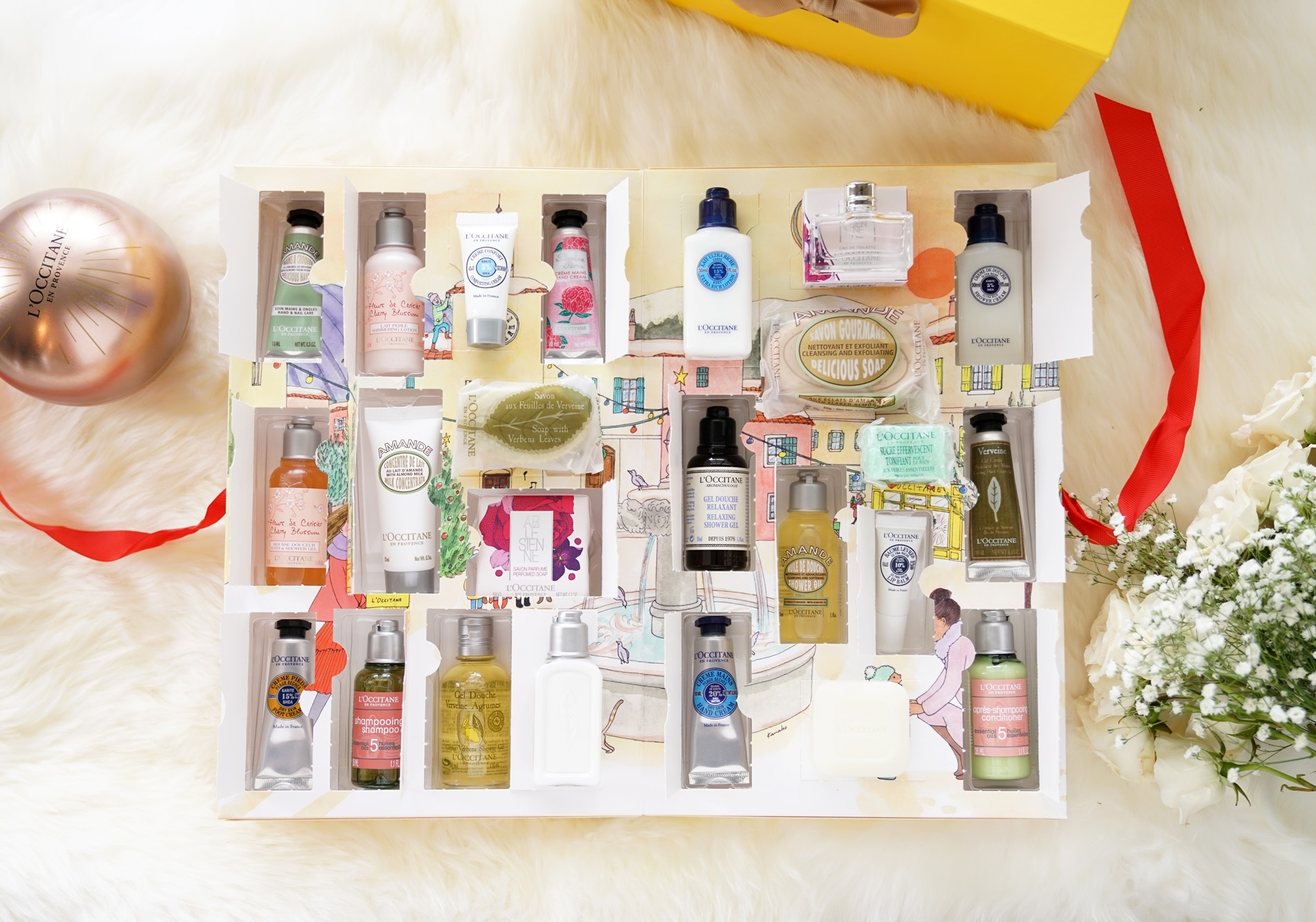 L'occitane Holiday Advent Calendars - The Beauty Look Book
