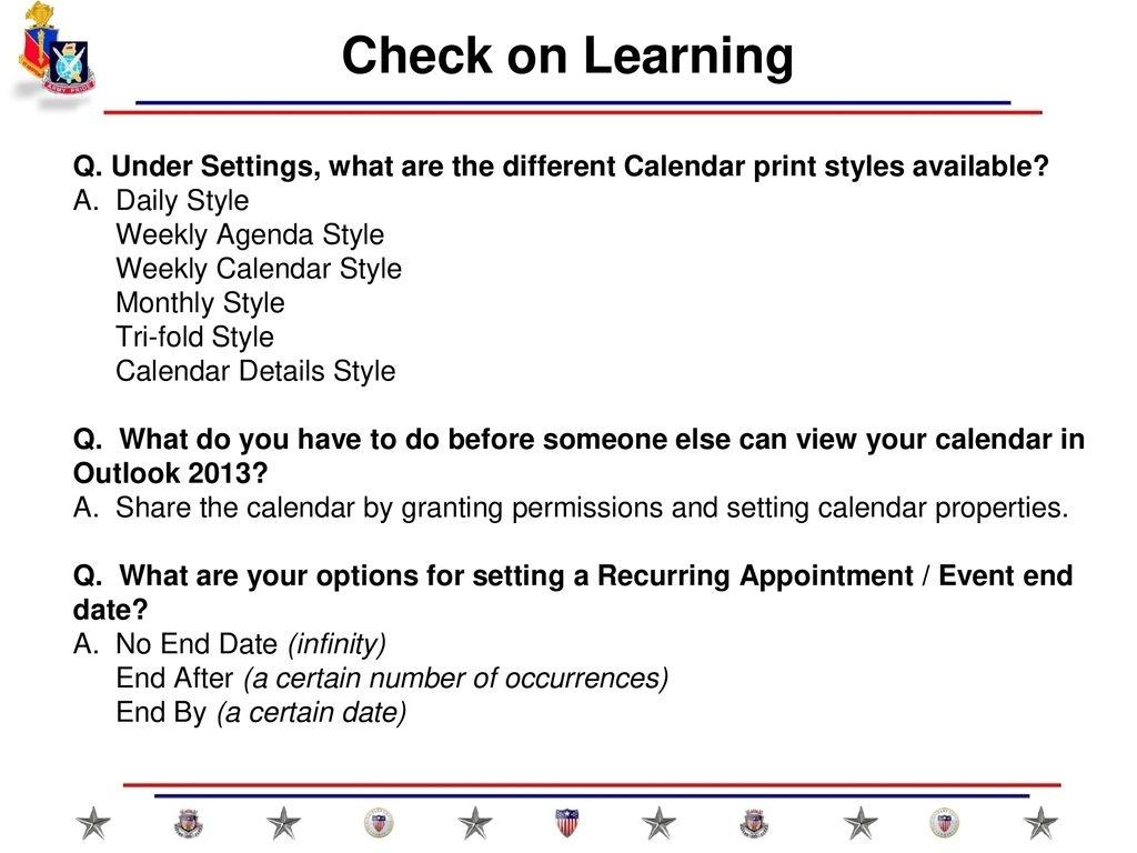 Maintain Executive Calendar Slides April Ppt Download