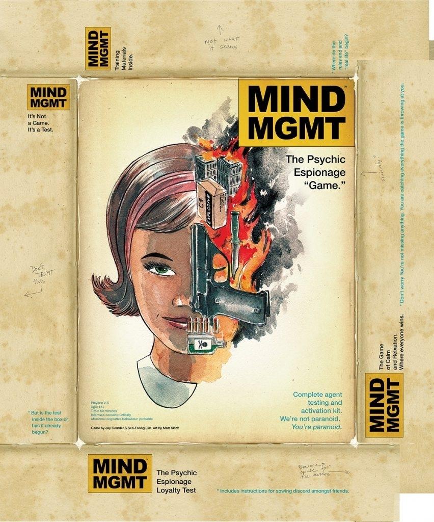 """Mind Mgmt"""" Board Game Gets Kickstarter Campaign!"""