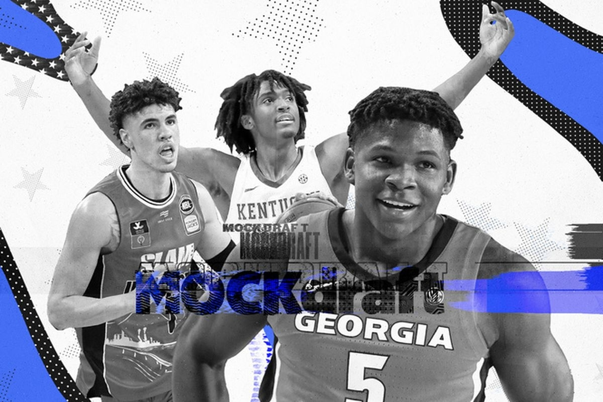 Nba Mock Draft 2020: Lamelo Ball To The Warriors In Our