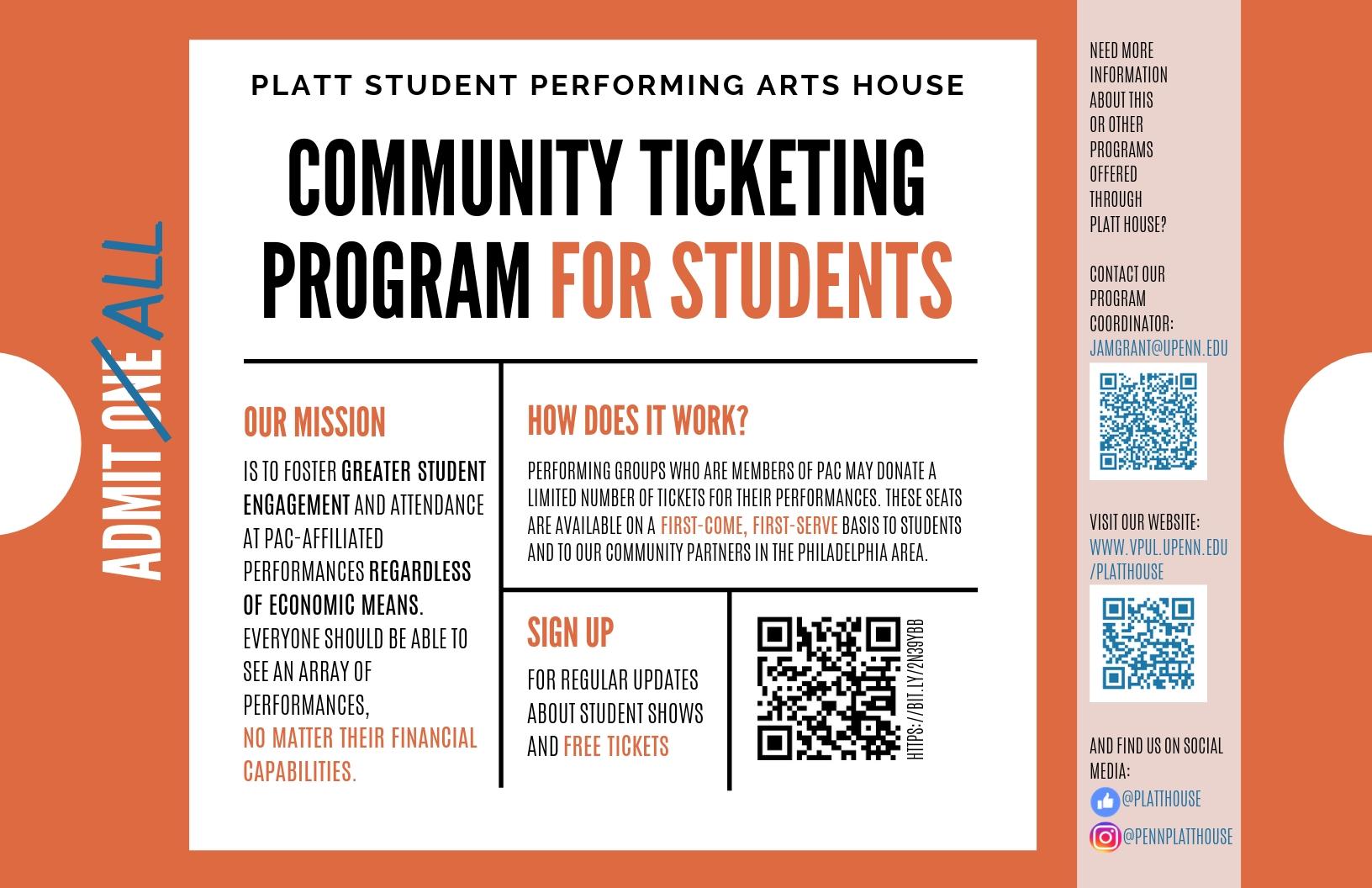 Platt Student Performing Arts House - Home | University Of
