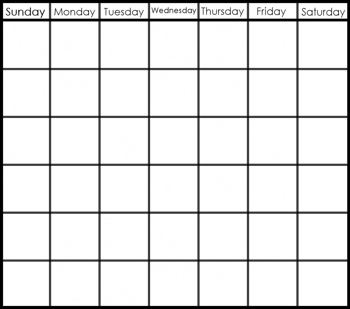 Printable 6 Week Calendar Printable 2 Week Calendar Planner