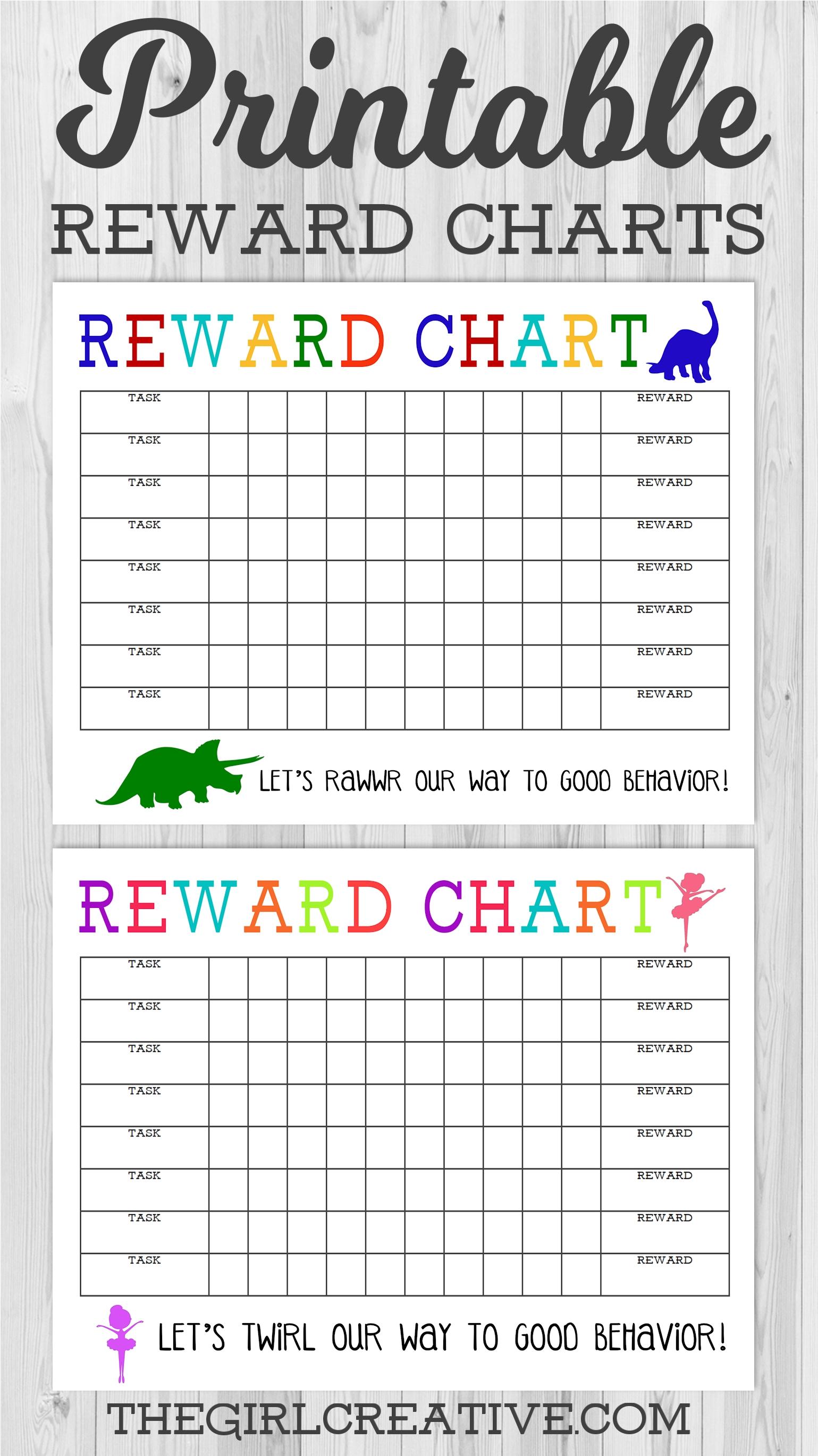 Free Printable Reward Calendar