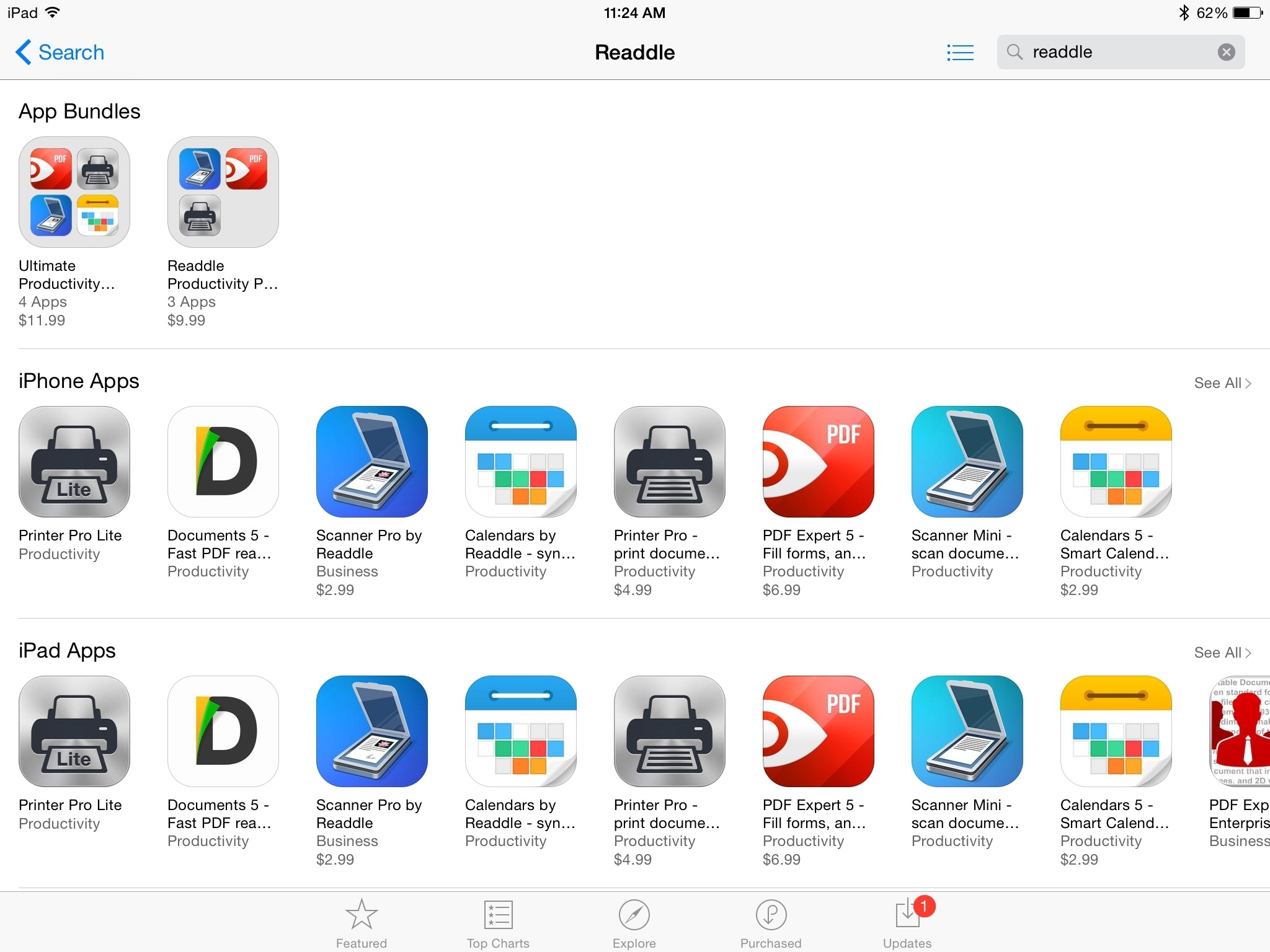 Readdle Discounts Its Popular Productivity Apps For