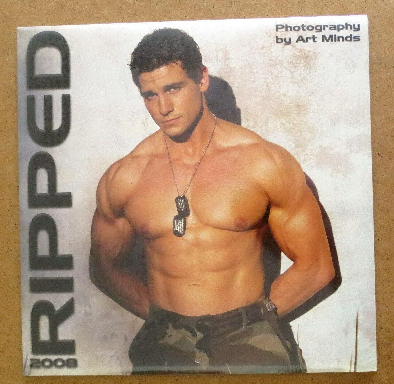 Ripped Calendar 2008 Fitness Male Models Bodybuilder Hot Hunks Jocks Muscle  Men