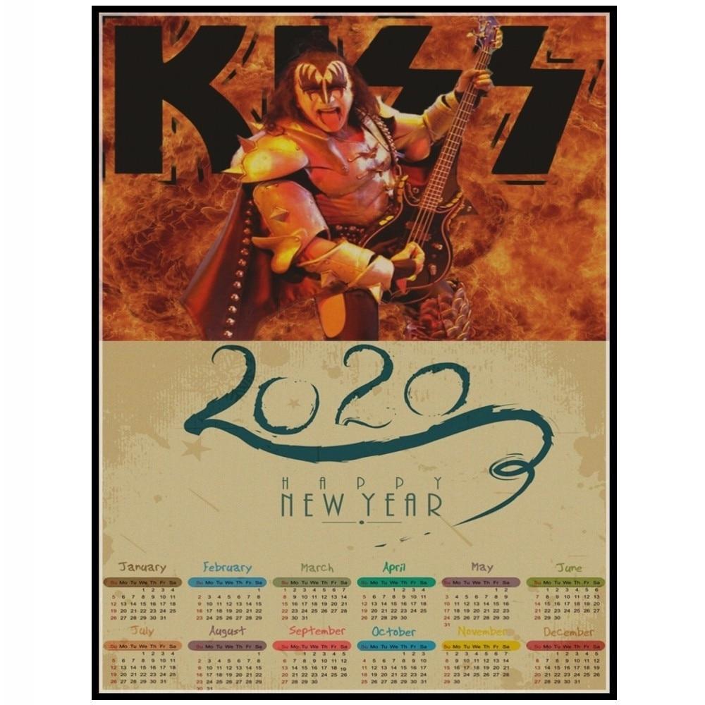 Rock N Roll Calendar 2020
