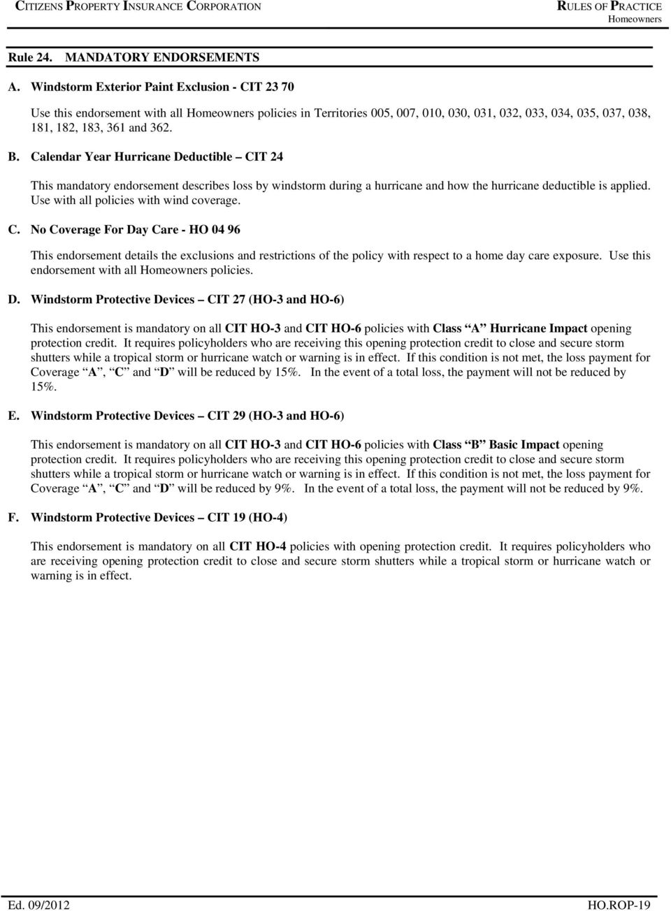 Rules Of Practice Table Of Contents Personal - Pdf Free Download