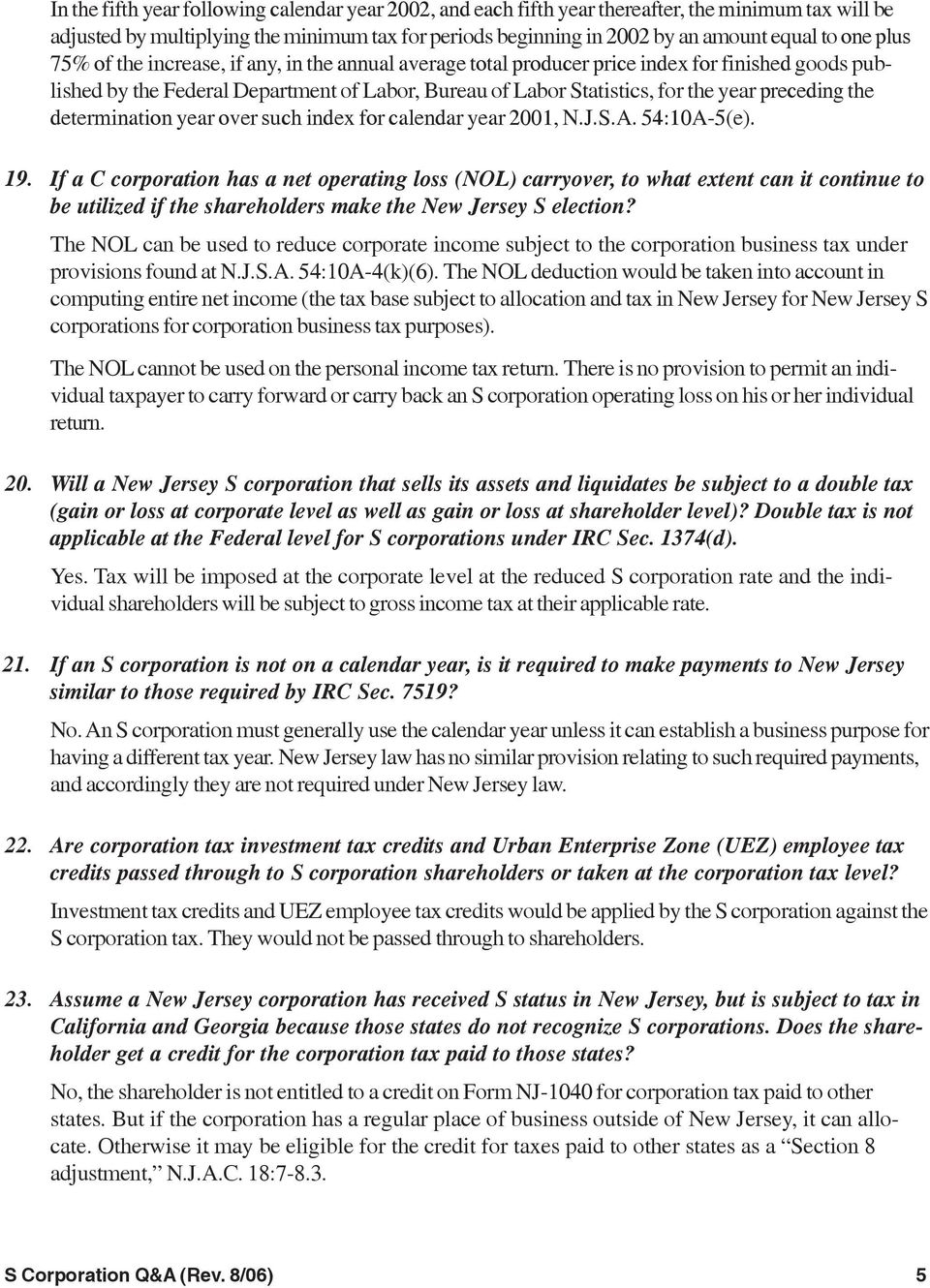S Corporation Questions & Answers - Pdf Free Download