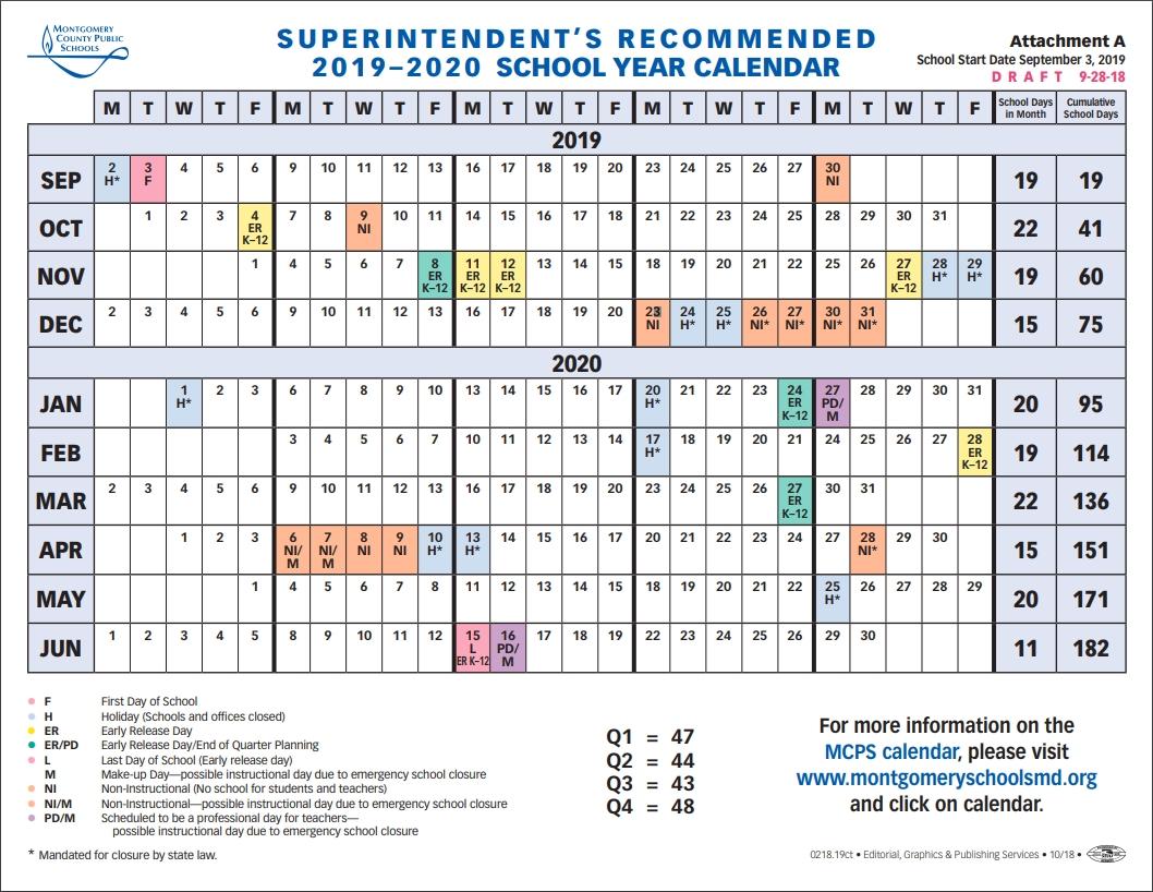 School Board To Vote On 2019-2020 School Year Calendar