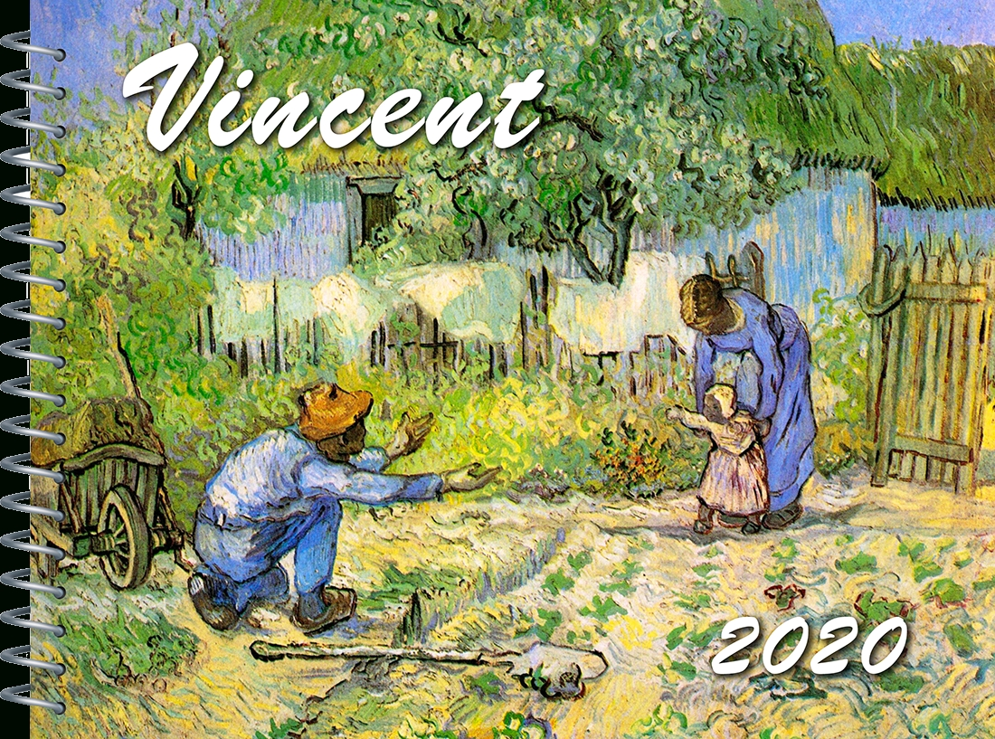 Van Gogh 2020 Engagement Planner + Calendar