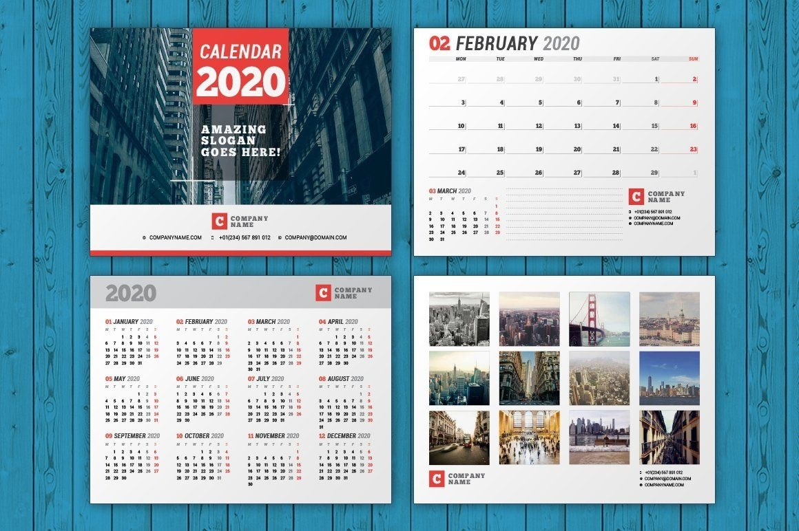 Wall Calendar 2020 (Wc037-20) (With Images) | Wall Calendar