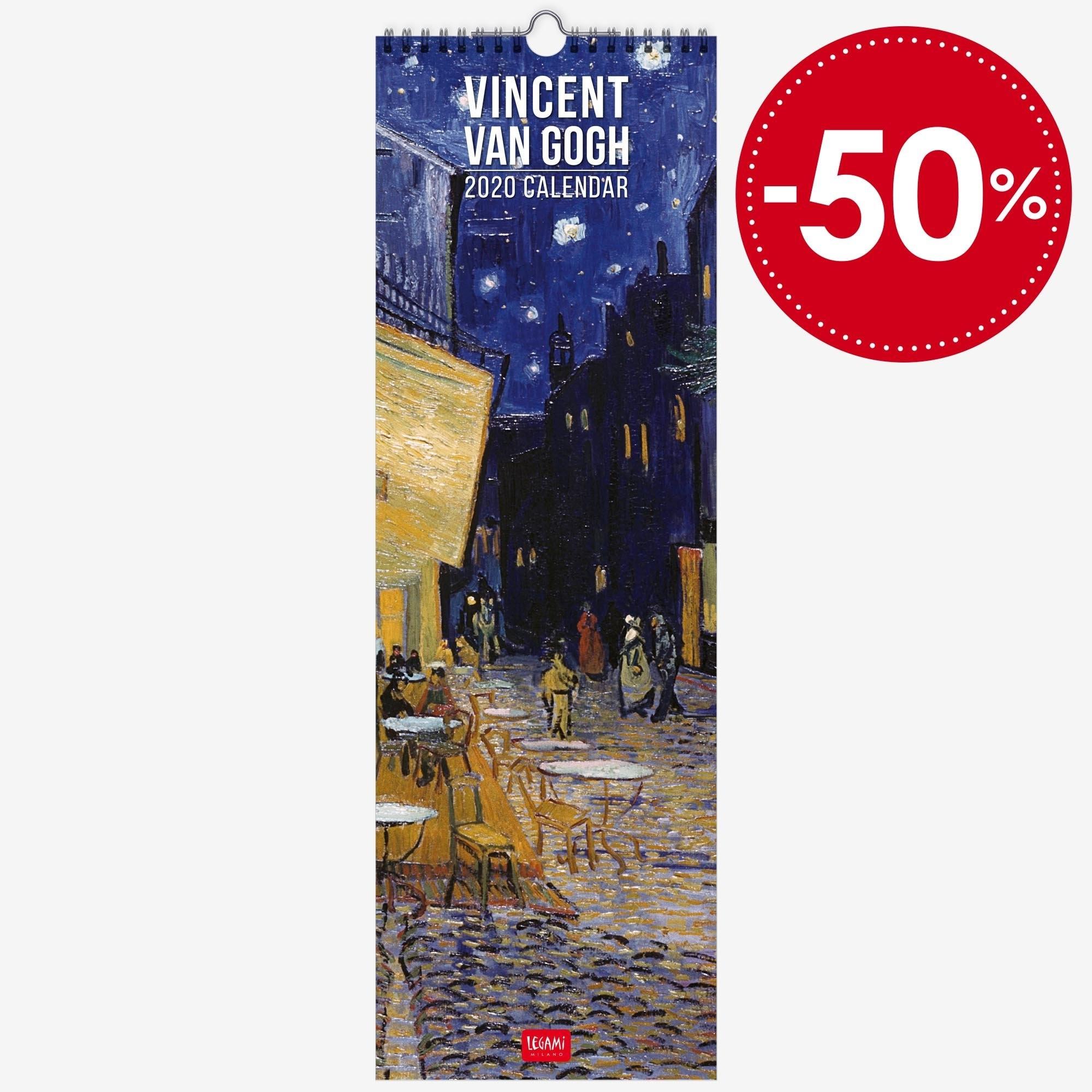Wall Calendar - Vincent Van Gogh - Shop Online | Legami