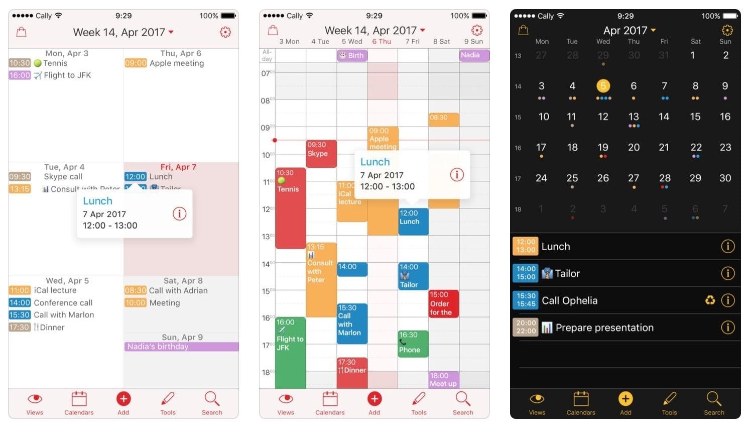 Week Calendar Für Ios Kostenlos