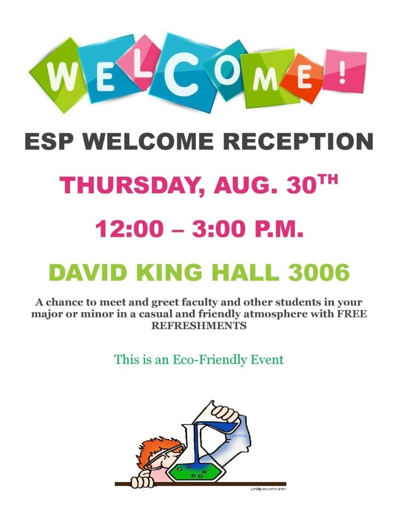 Welcome Week Event For All Students, Faculty, And Staff