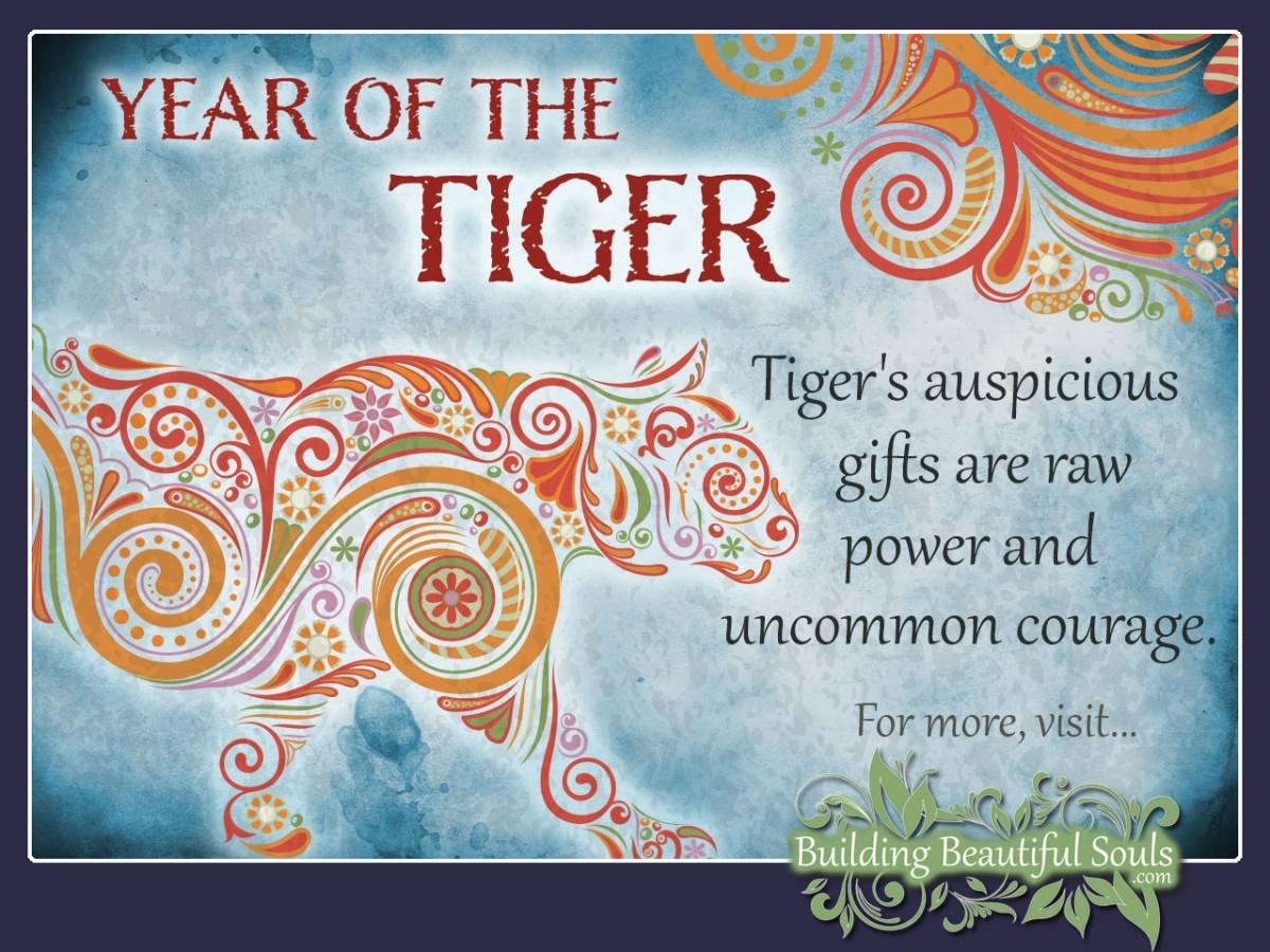 Chinese Zodiac Calendar Tiger