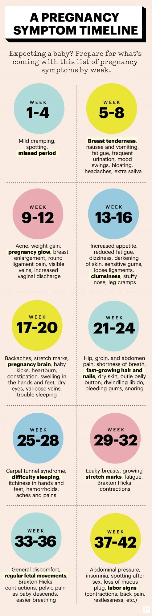Your Pregnancy Symptoms Weekweek | Parents