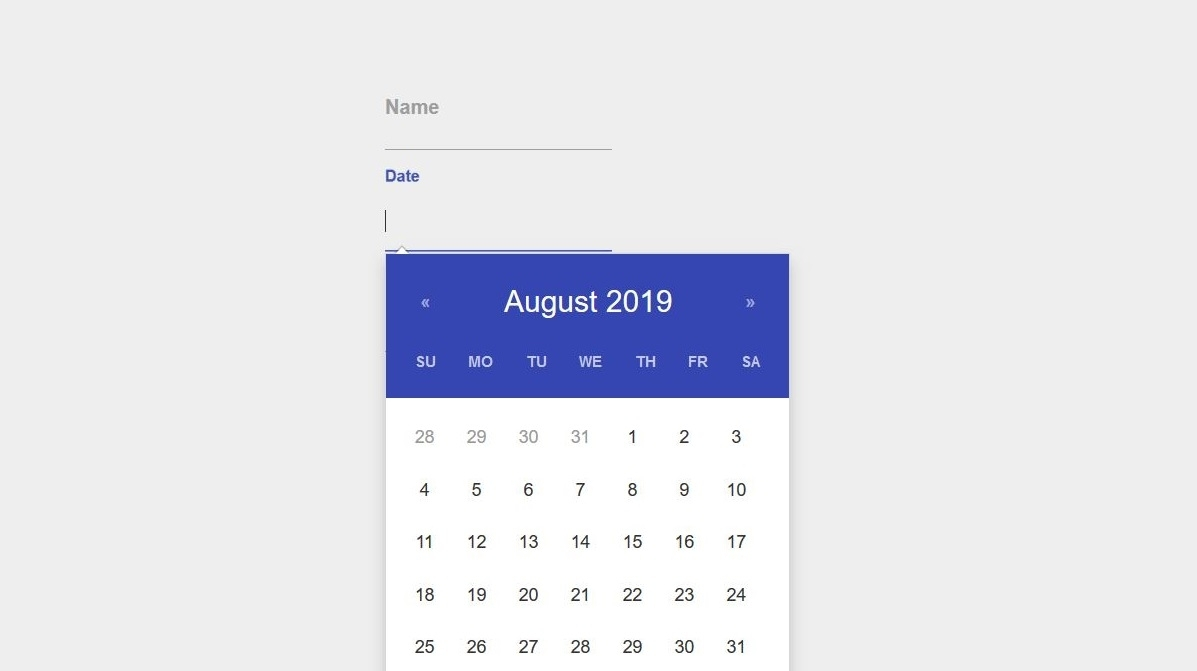 20 Free Stunning Bootstrap Datepicker Examples - Colorlib