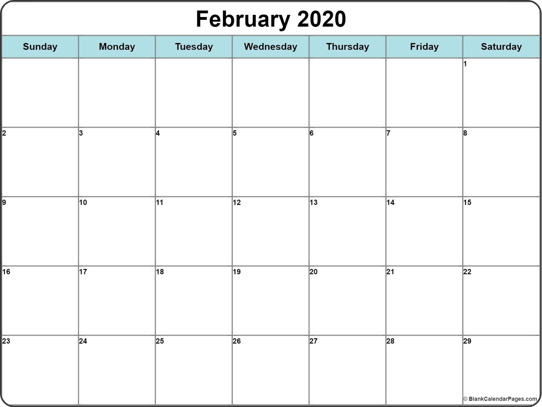 2020 Calendar With Space To Write In 2020   Calendar