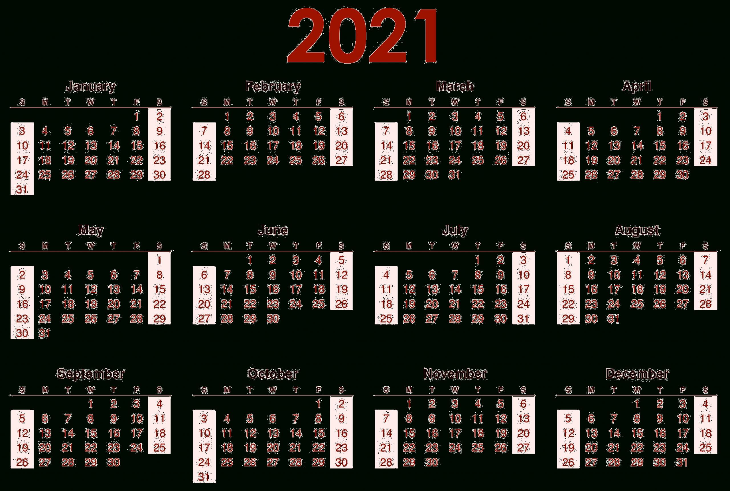 2021 Calendar Wallpapers - Top Free 2021 Calendar
