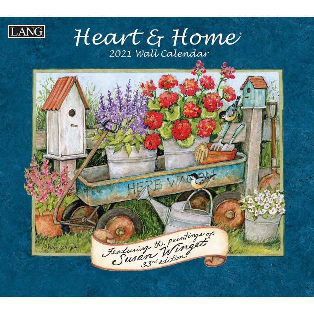 2021 Heart & Home Wall Calendarlang