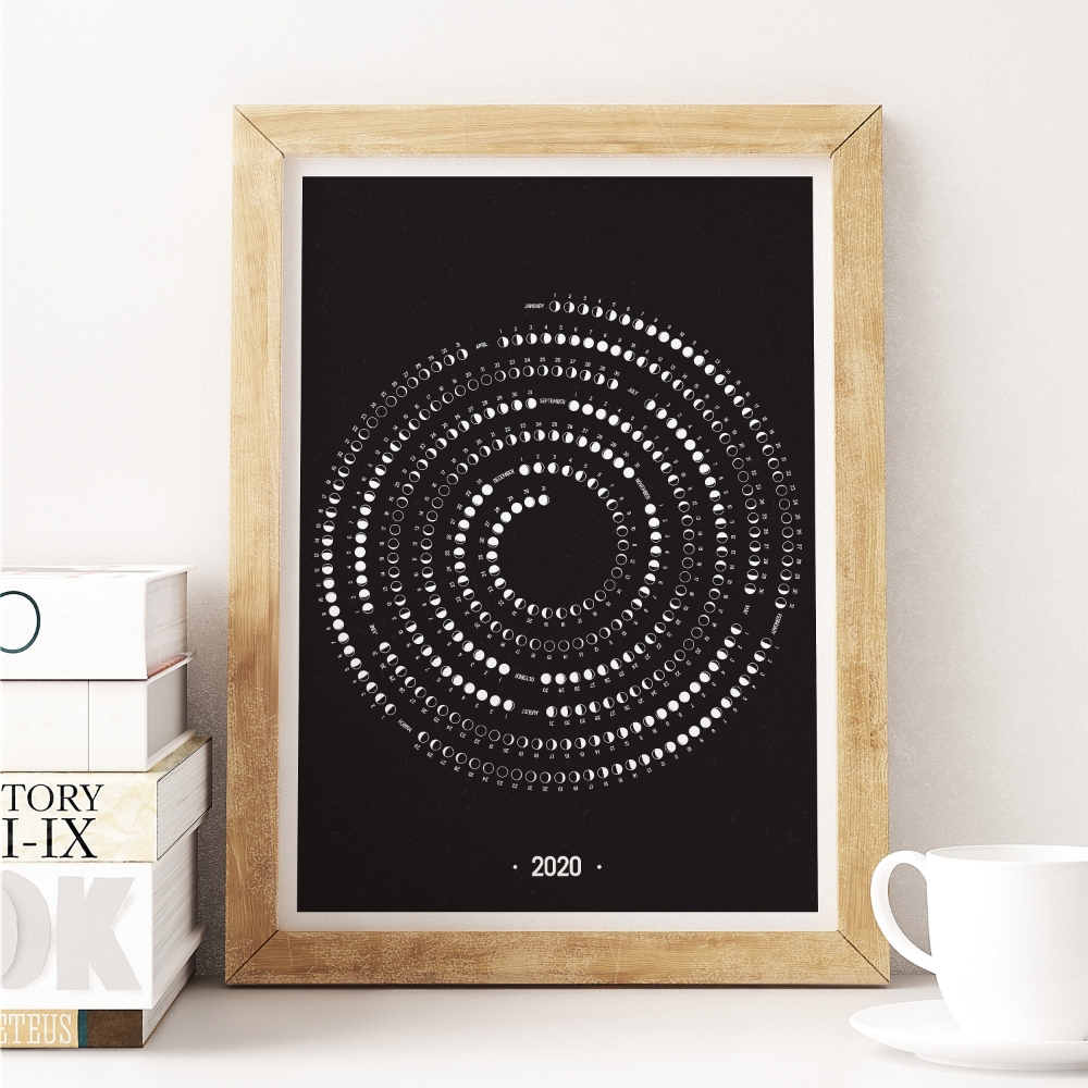 2021 Moon Calendar Moon Phase Calendar 2021 Phases Of Moon