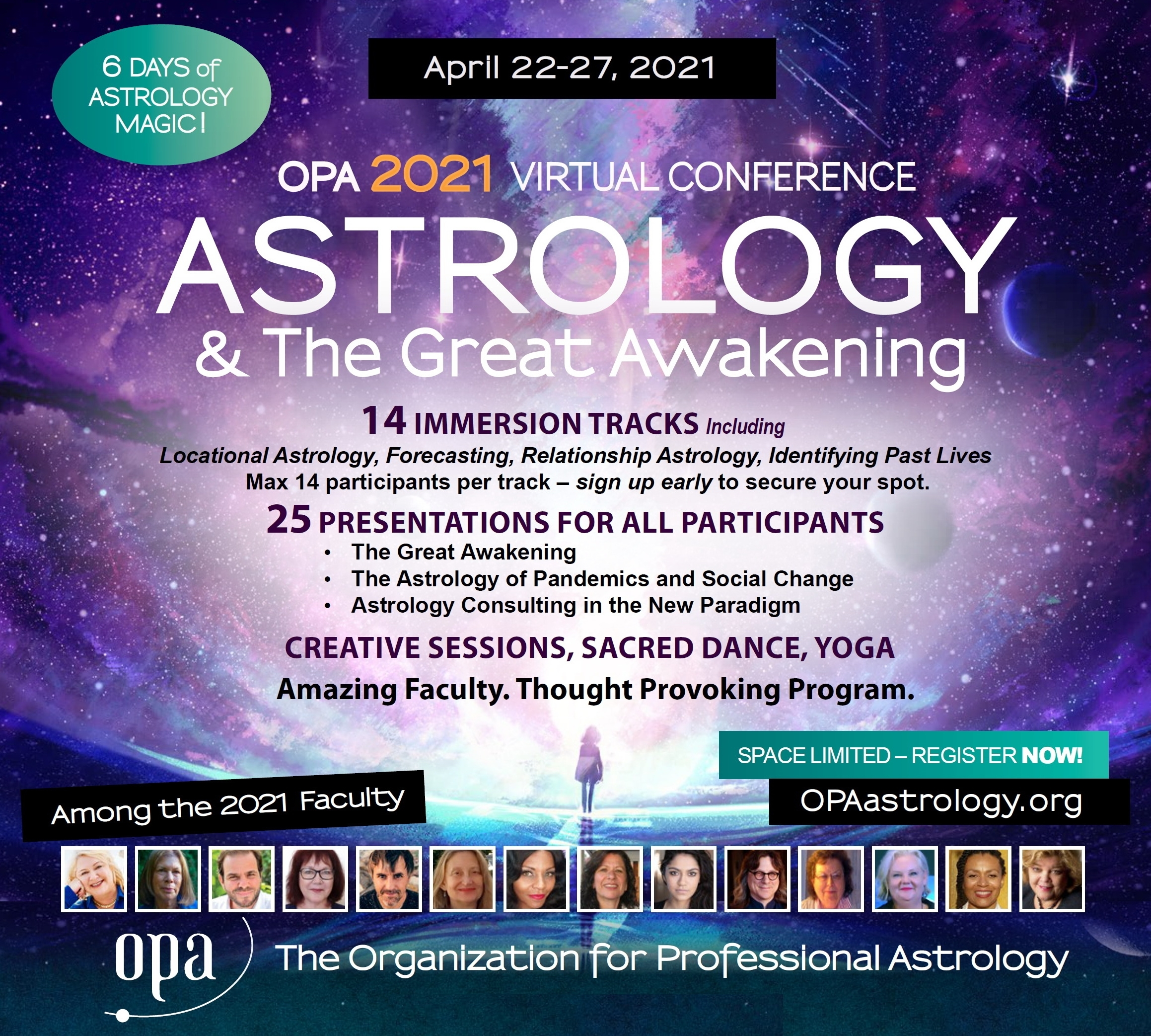 2021 Opa Virtual Astrology Conference - Maurice Fernandez