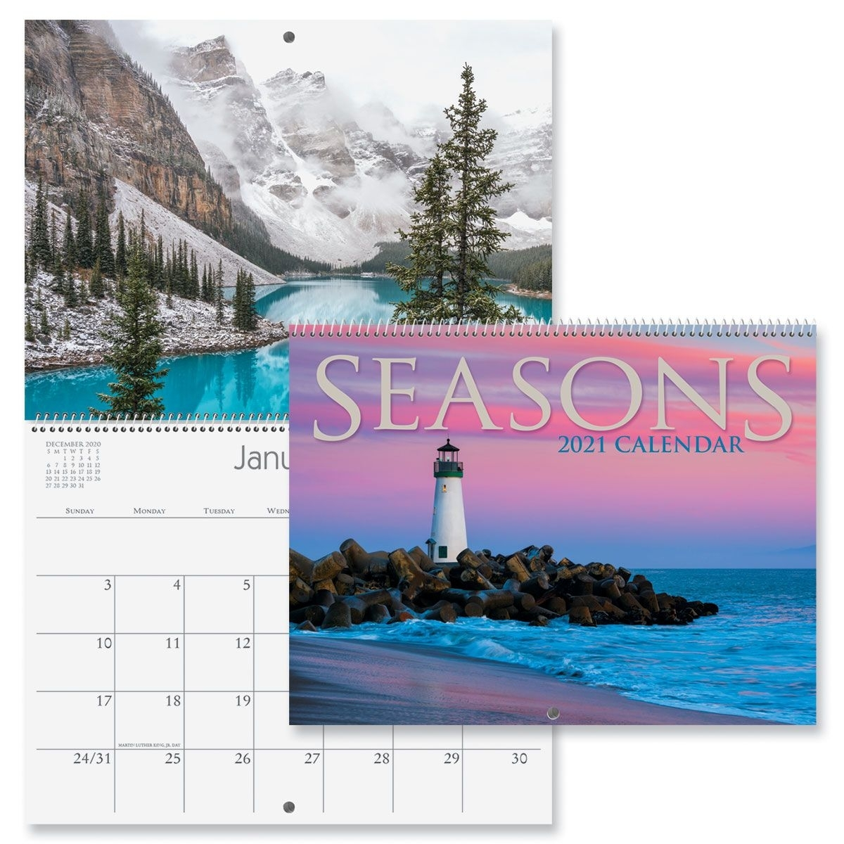 2021 Seasons Wall Calendar