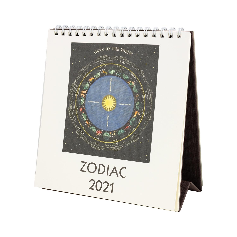 2021 Zodiac Desk Calendar