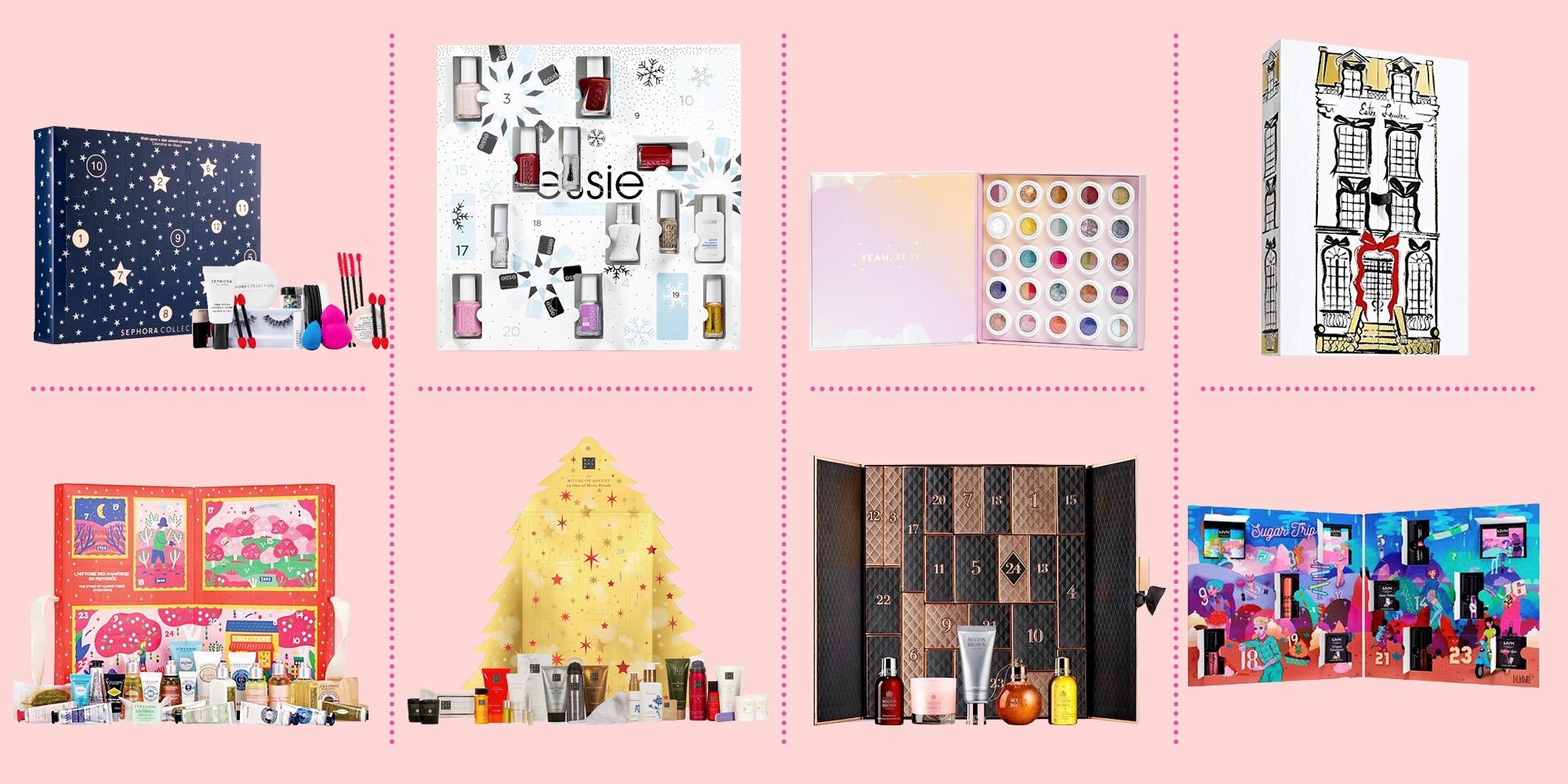 21 Best Beauty Advent Calendars 2020 - Top Makeup Advent