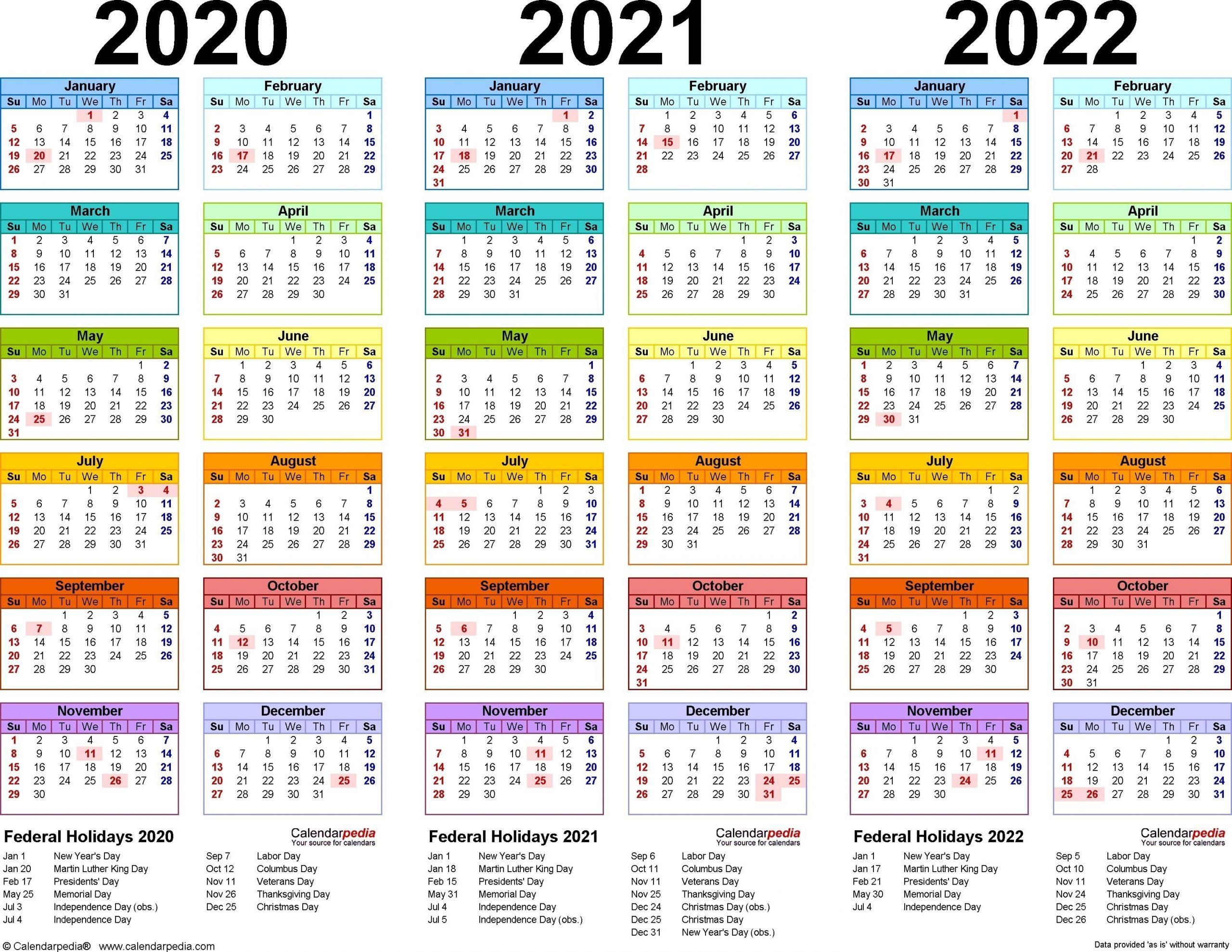 3 Year Calendar Planner In 2020 | Academic Calendar, School