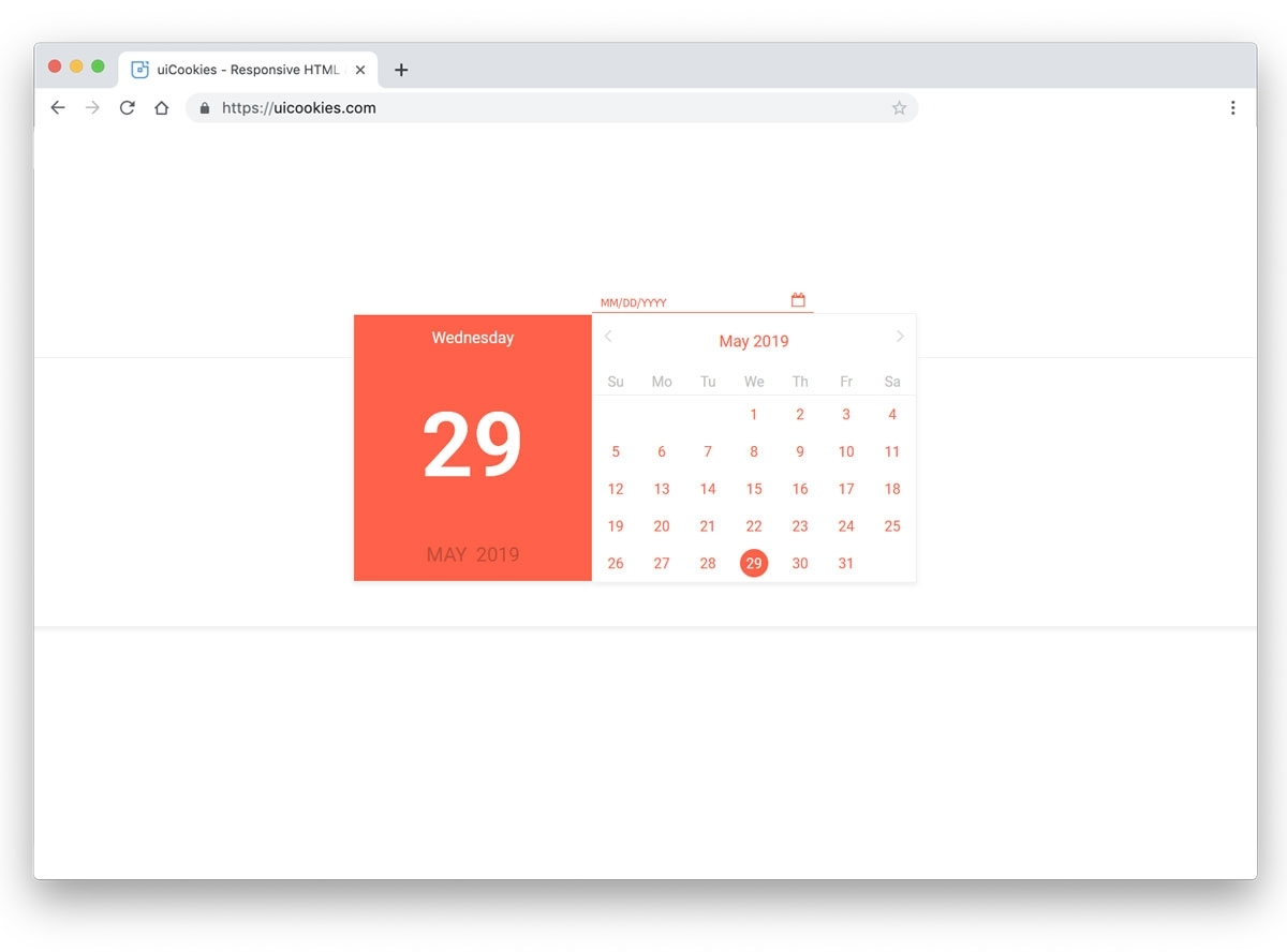 30 Bootstrap Datepicker Examples For All Types Of Forms And
