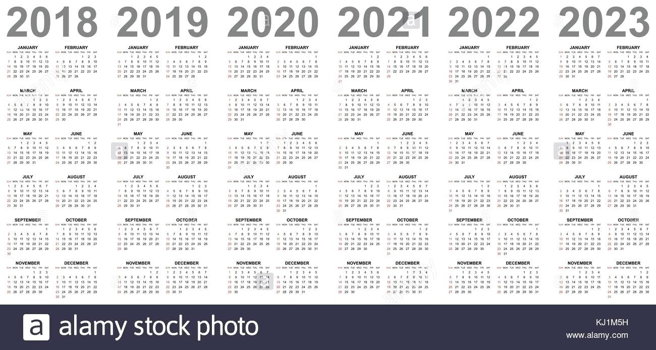4 Year Calendar Wooster In 2020 | 5 Year Calendar, Calendar