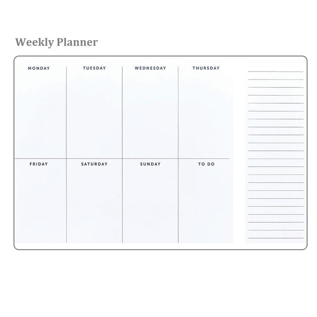 5 Free Printable Weekly Planner Templates » Calendarkart