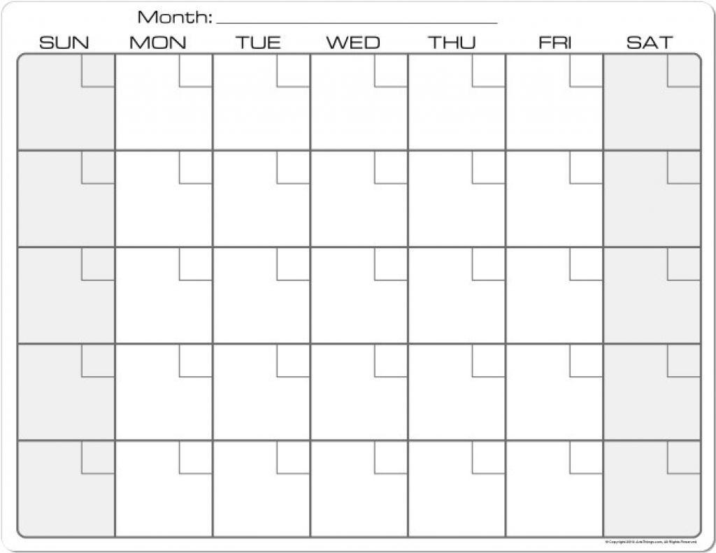 8.5 X 11 Printable Calendars In 2020   Blank Calendar