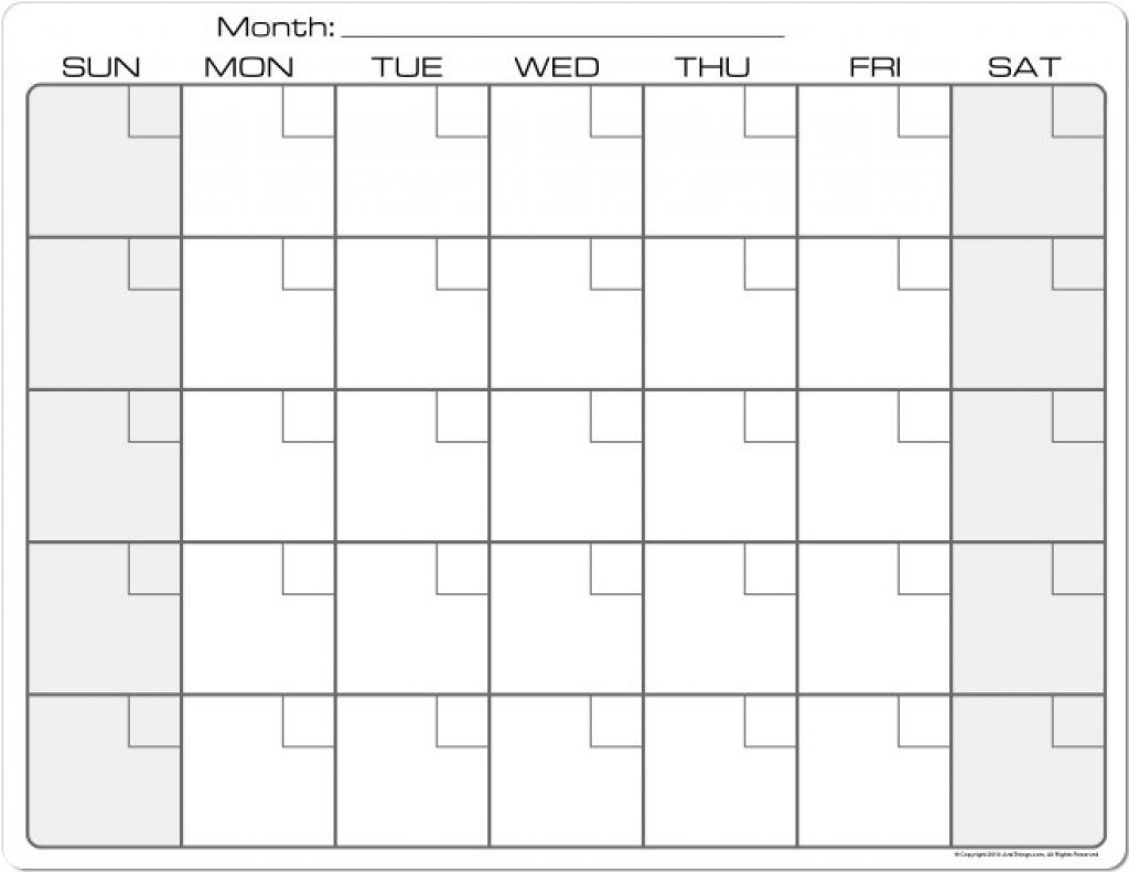 8.5 X 11 Printable Calendars In 2020 | Blank Calendar
