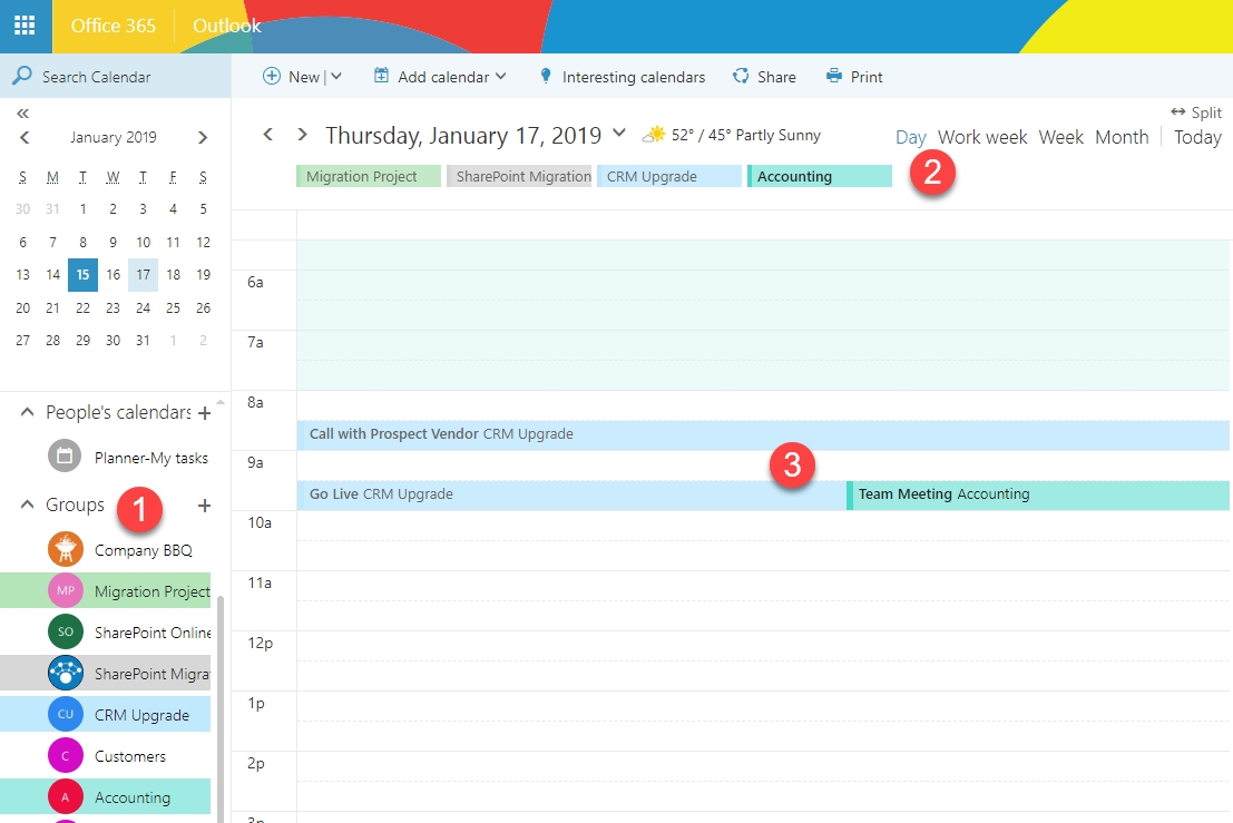 A Review Of All The Calendar Options In Sharepoint And