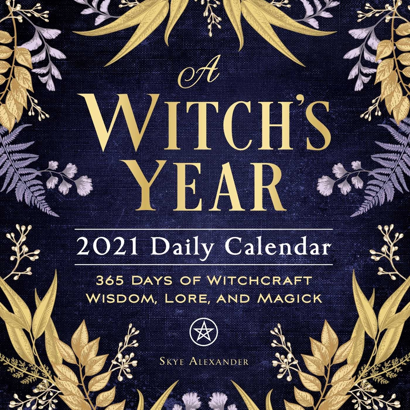 A Witch'S Year 2021 Daily Calendar - Book Summary & Video