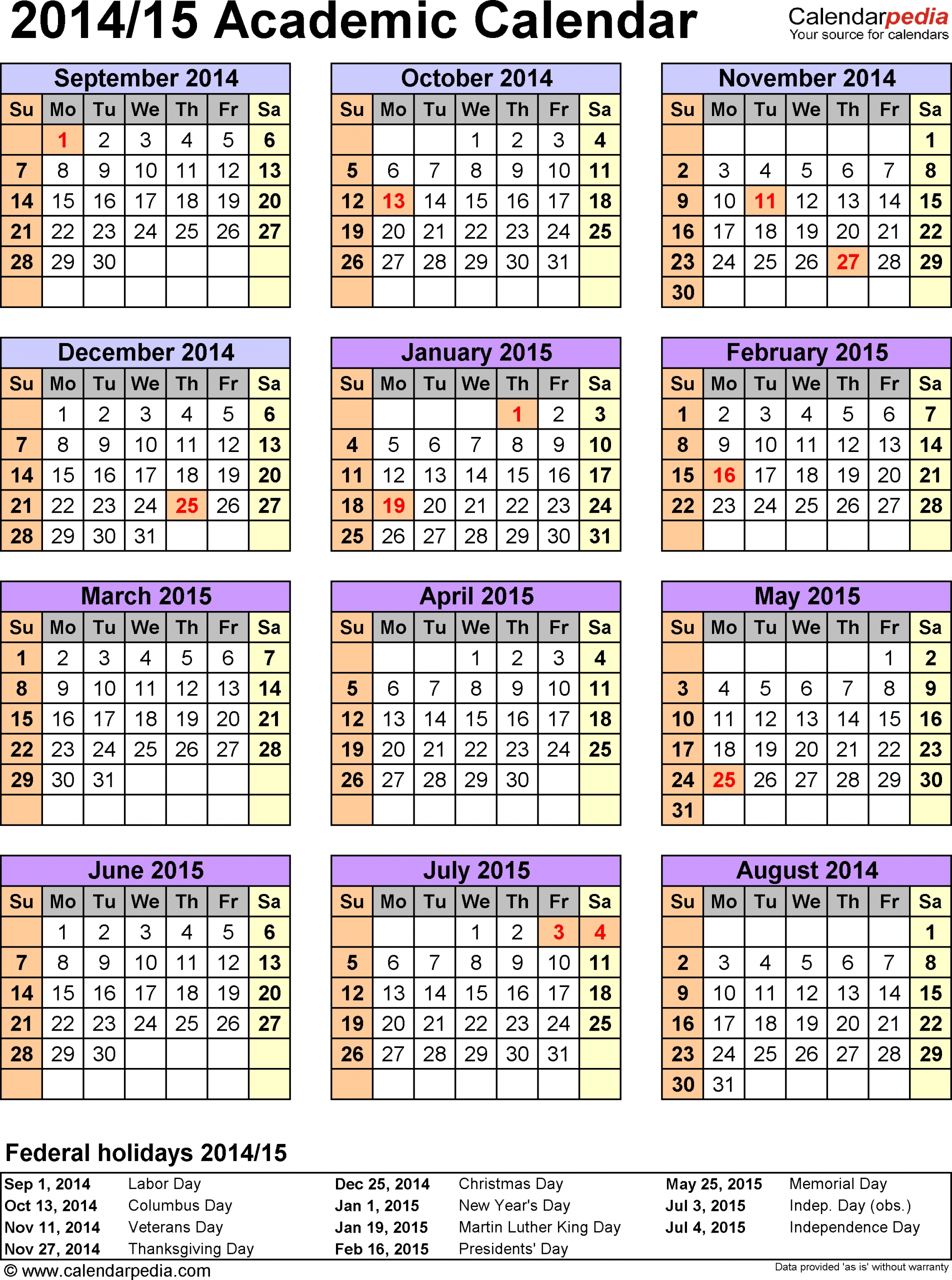 Academic Calendar-Cds | Department Of Education