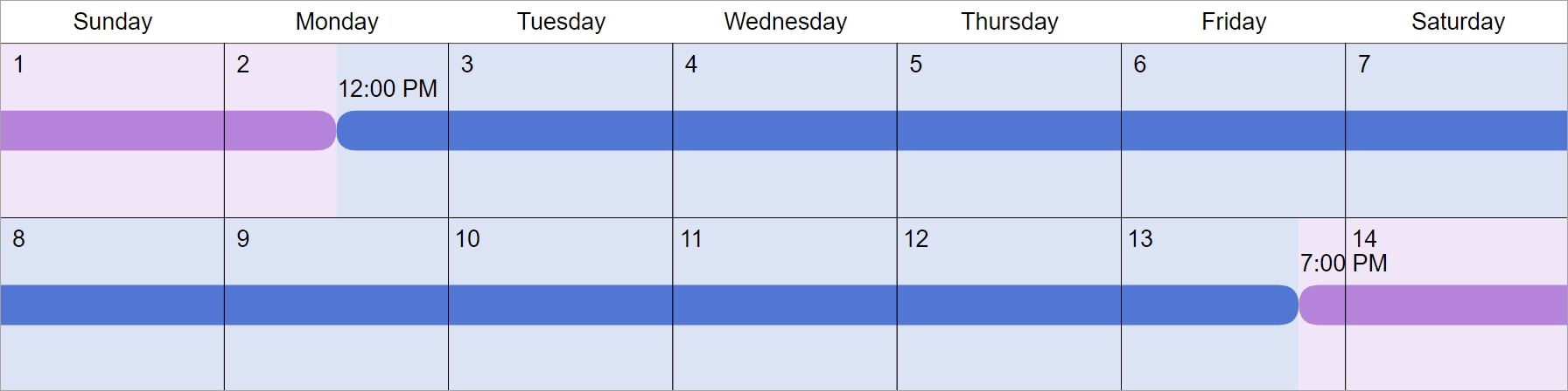 Alternating Weekends Visitation Schedules: 5 Common Examples
