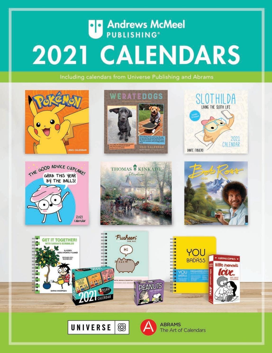 Andrews Mcmeel 2021 Calendar Catalogandrews Mcmeel
