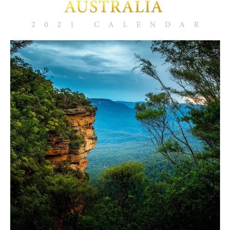Australia 2021 Deluxe Wall Calendar