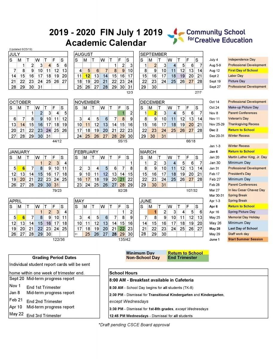 Berkeley Law Academic Calendar -