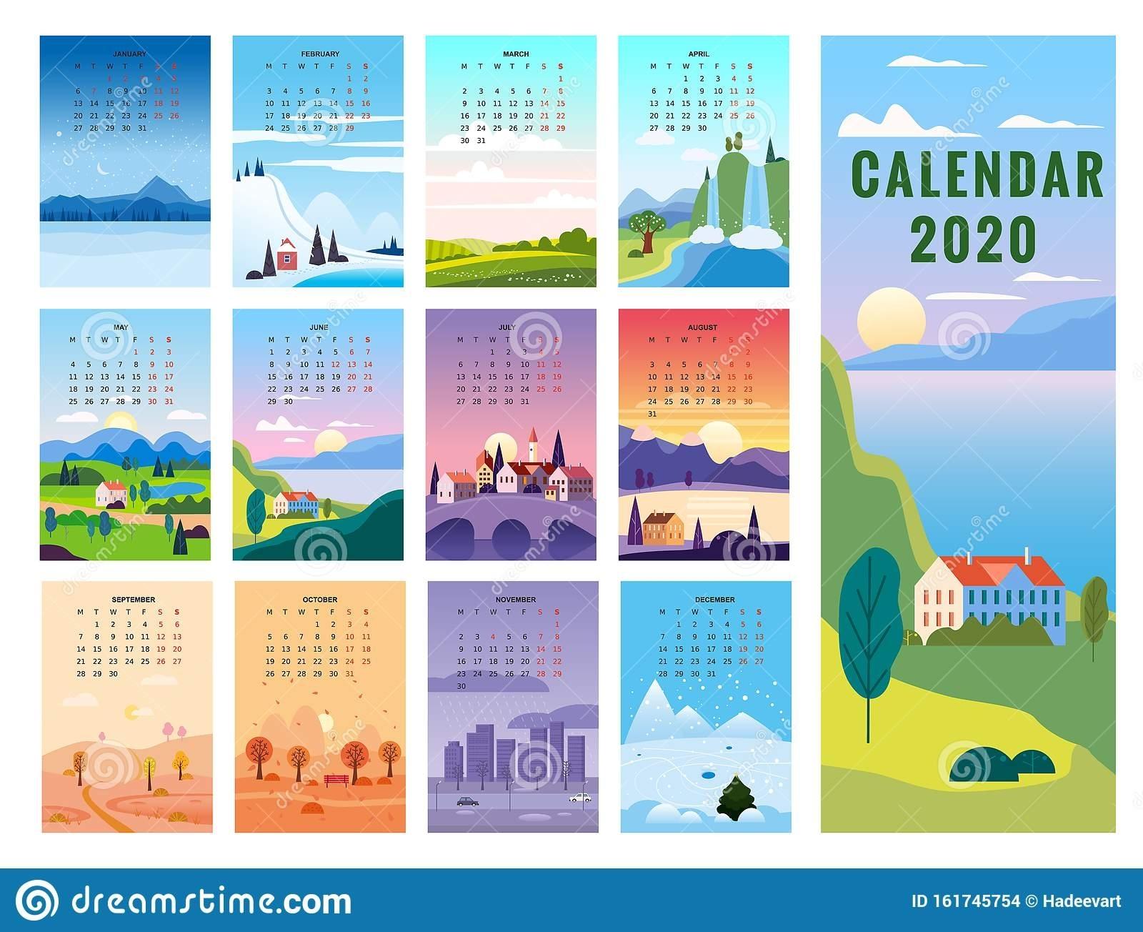 Calendar Seasons Stock Illustrations – 4,773 Calendar