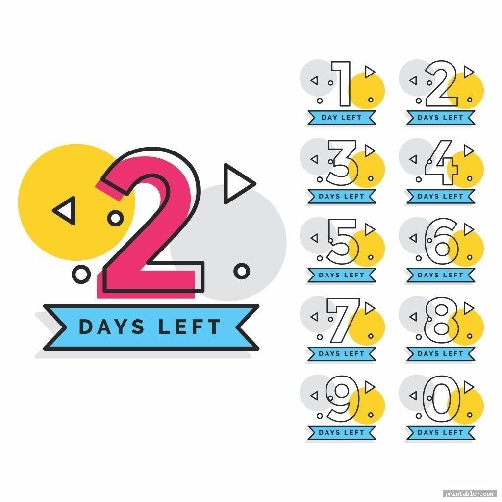 Countdown Calendar Tear Off In 2020 | Countdown Calendar