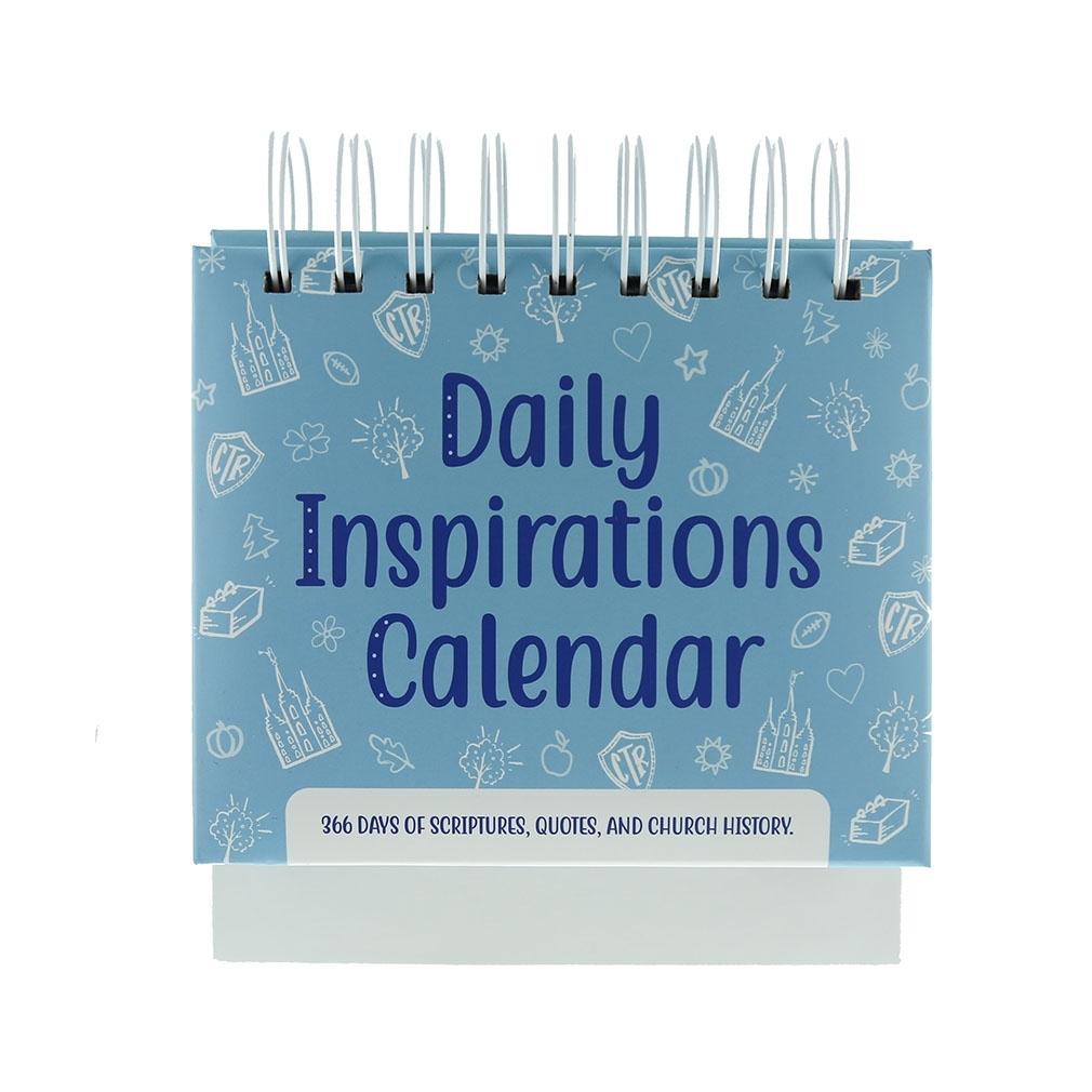 Daily Inspirations Perpetual Desk Calendar