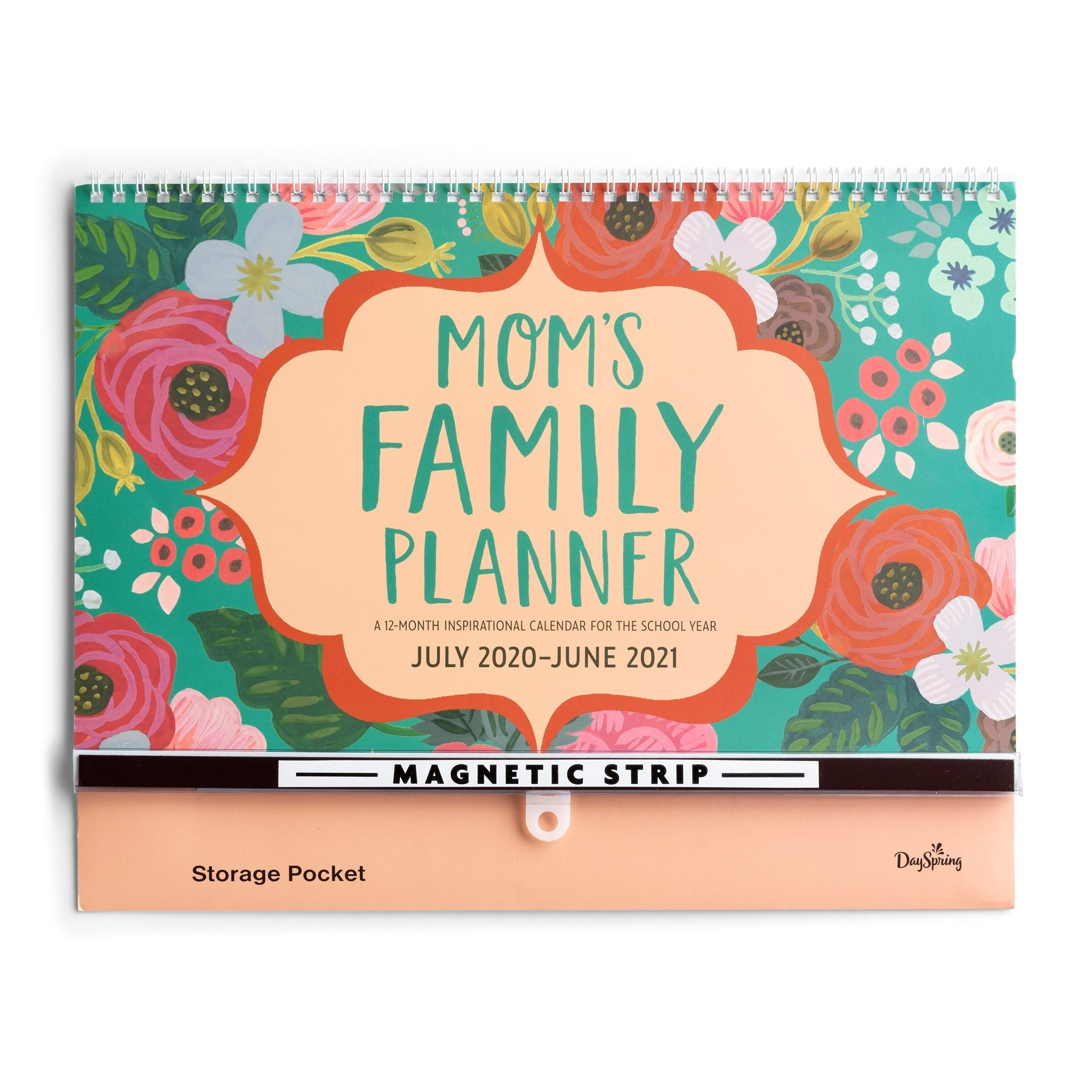 Dayspring, 2020 2021 Moms School Year Family Planner, 849996558 -  Walmart