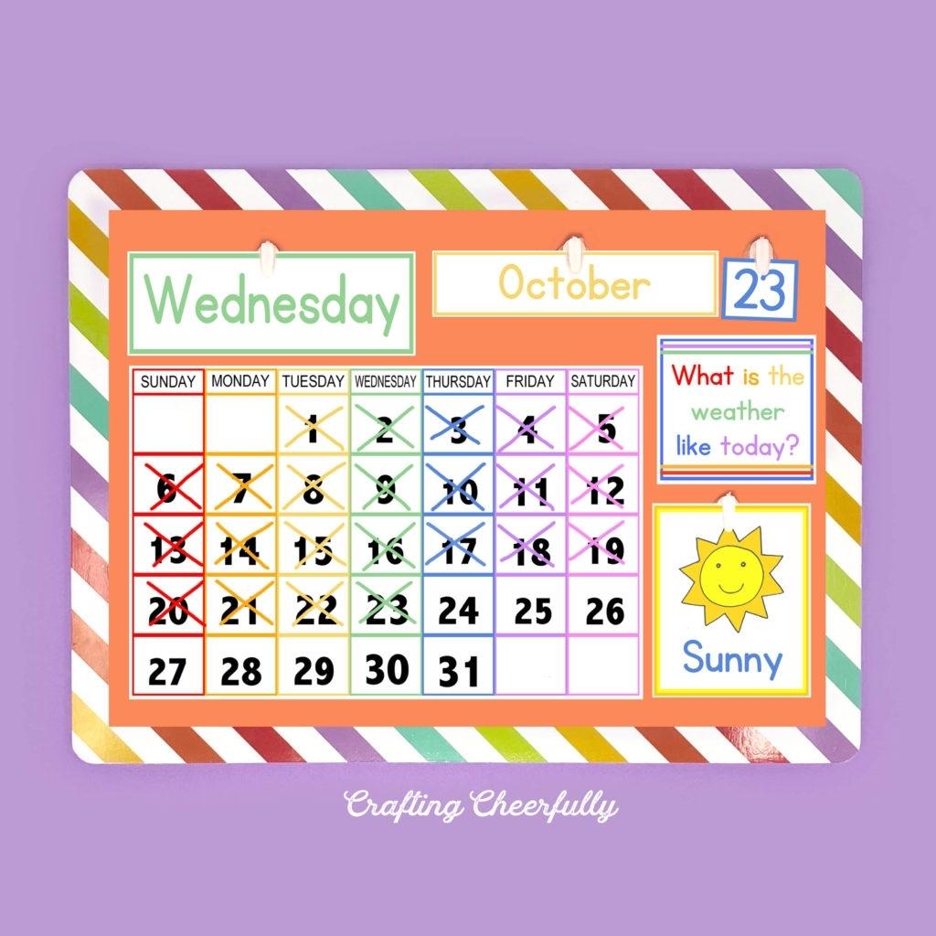 Diy Children'S Calendar. How To Create A Handmade Calendar