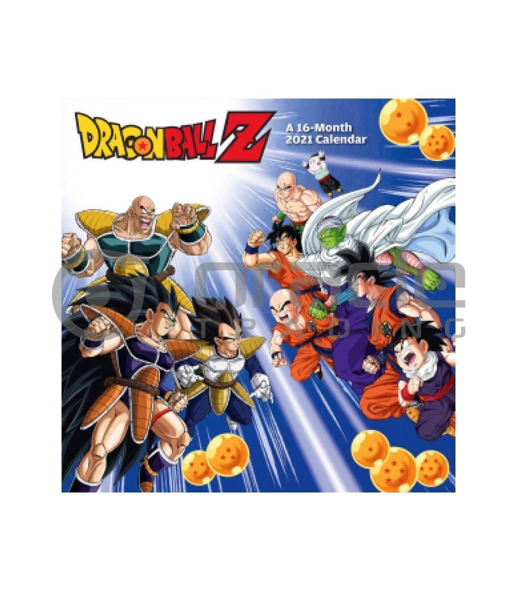 Dragon Ball Z 2021 Calendar | Oracle Trading Inc.