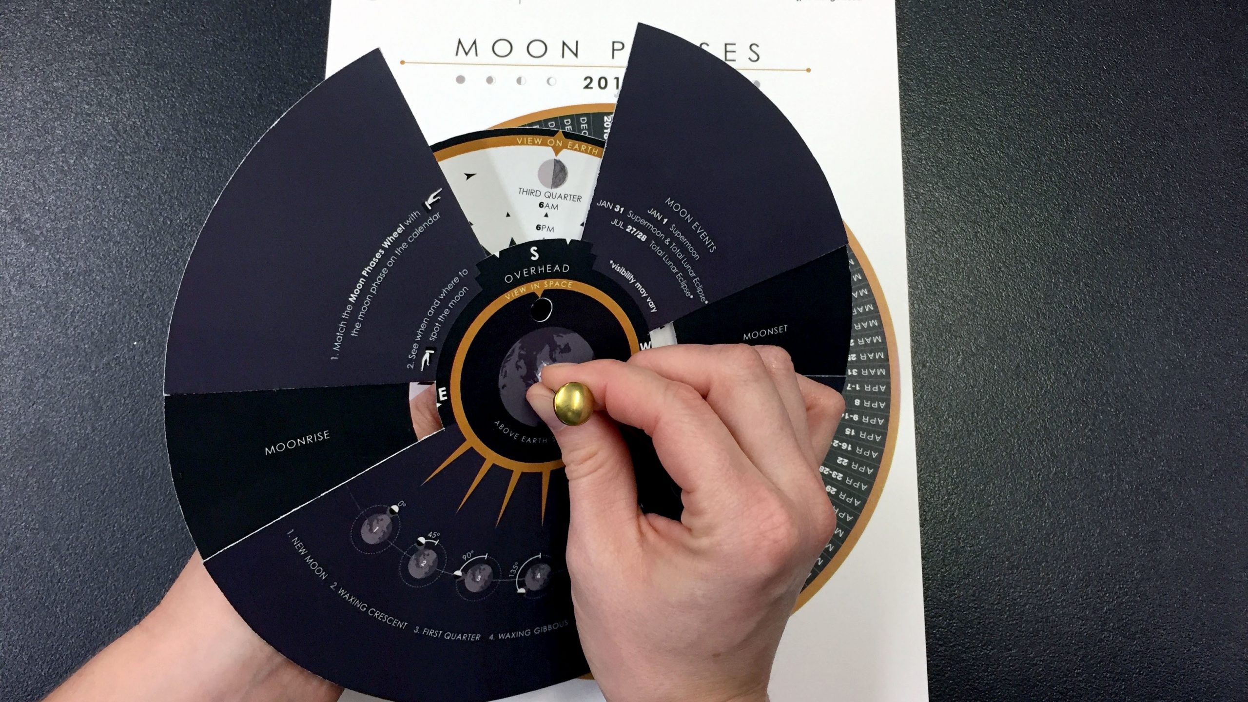 Educator Guide: Make A Moon Phases Calendar And Calculator